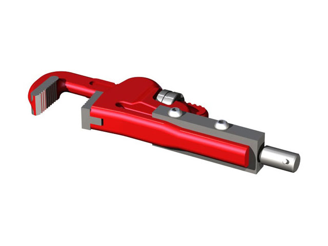 #6 Pipe Wrench Drive End